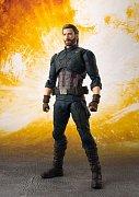 Avengers Infinity War S.H. Figuarts Action Figure Captain America & Tamashii Effect Explosion 16 cm