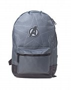 Avengers Infinity War Stitching Backpack Grey Logo