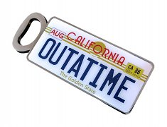 Back to the Future Bottle Opener Outatime