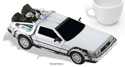 Back to the Future Diecast Model Time Machine 15 cm --- DAMAGED PACKAGING