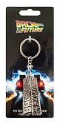 Back to the Future Metal Keychain Logo