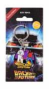 Back to the Future Metal Keychain Marty & Doc