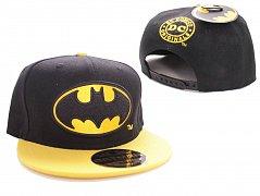 Batman Adjustable Cap Black Bat Logo Black