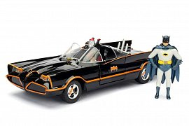 Batman Build N\' Collect Diecast Kit 1/24 1966 Classic TV Series Batmobile with figures
