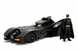 Batman Build N\' Collect Diecast Kit 1/24 1989 Batmobile with Batman figure