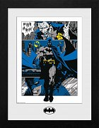 Batman Collector Print Framed Poster Panels