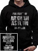 Batman Hooded Sweater Arkham Asylum