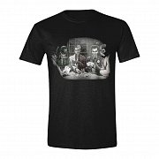 Batman T-Shirt Villains Poker