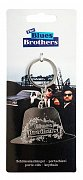 Blues Brothers Metal Keychain Hat