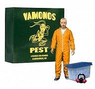 Breaking Bad Deluxe akční figurka  Jesse Pinkman in Orange Hazmat Suit heo Exclusive 15 cm