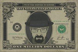 Breaking Bad plakát  Pack Heisenberg Dollar 61 x 91 cm (5)