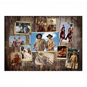 Bud Spencer & Terence Hill Jigsaw Puzzle Western Photo Wall (1000 pieces) --- DAMAGED PACKAGING