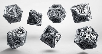 Call of Cthulhu Metal Dice Set (7)