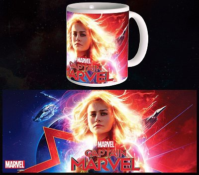 Captain Marvel Mug Glowing