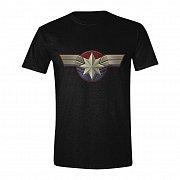 Captain Marvel T-Shirt Chest Emblem