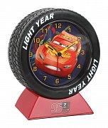 Cars 3 Alarm Clock with Light Light Year