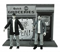 Clerks Select 20th Anniversary Action Figures 18 cm Series 1 Assortment (6) --- DAMAGED PACKAGING