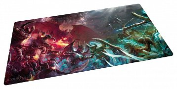 Court of the Dead Play-Mat Heaven and Hell 61 x 35 cm