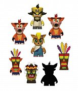 Crash Bandicoot Vinyl Mini Figures 8 cm Display (24)