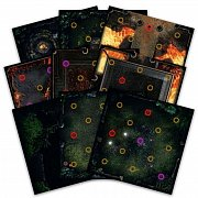Dark Souls The Board Game: Darkroot Basind and Iron Keep Gaming Tile Set