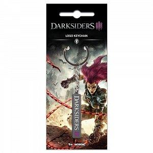Darksiders III Metal Keychain Logo - 1