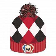 DC Comics Beanie Knitted Harley Quinn Logo