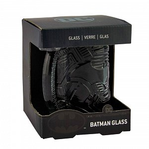 DC Comics Beer Pint Glass Batman Shaped - 2
