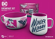 DC Comics Breakfast Set Wonder Woman Brave