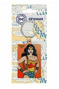 DC Comics Metal Keychain Wonder Woman 6 cm