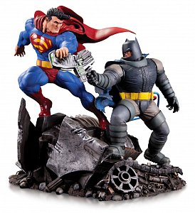 DC Comics Mini Battle Statue Batman vs. Superman 16 cm - 1