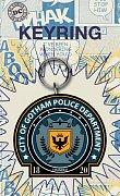 DC Comics Rubber Keychain Gotham Police 7 cm