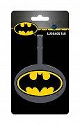 DC Comics Rubber Luggage Tag Batman Logo