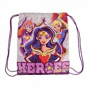 DC Super Heroes Girls Gym Bag Characters