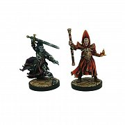 D&D Collectors Series Miniatures Unpainted Miniatures Naergoth Bladelord & Rath Modar