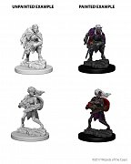 D&D Nolzur\'s Marvelous Miniatures Unpainted Miniatures Drow Case (6)