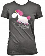 Despicable Me Ladies T-Shirt I Believe in Fluffy Unicorns