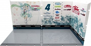 Dioramansion 150 Decorative Parts for Nendoroid and Figma Figures Racing Miku 2017 Pit C