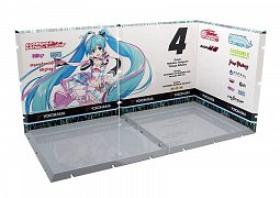 Dioramansion 150 Decorative Parts for Nendoroid and Figma Figures Racing Miku 2019 (Pit C)
