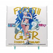 Dioramansion 150 Decorative Parts Racing Miku Pit 2018 Optional Panel Rd. 4 Thailand