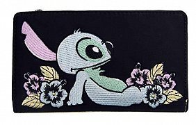 Disney by Loungefly Flap Purse Lilo & Stitch Flowers