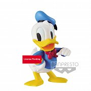 Disney Fluffy Puffy Mini Figure Donald 10 cm