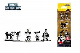 Disney Nano Metalfigs Diecast Mini Figures 5-Pack Mickey\'s 90th 4 cm