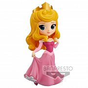 Disney Q Posket Mini Figure Princess Aurora A (Pink Dress) 14 cm
