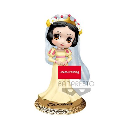 Disney Q Posket Mini Figure Snow White Dreamy Style Ver. B 14 cm