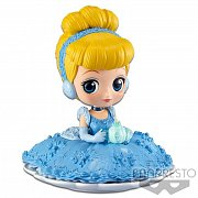 Disney Q Posket SUGIRLY Mini Figure Cinderella A Normal Color Version 9 cm