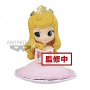 Disney Q Posket SUGIRLY Mini Figure Princess Aurora Pastel Color Ver. 9 cm