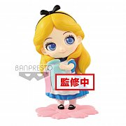 Disney Q Posket Sweetiny Mini Figure Alice Normal Color Ver. 10 cm