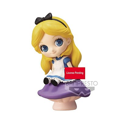 Disney Sweetiny Mini Figure Alice Ver. A 6 cm