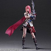 Dissidia Final Fantasy Play Arts Kai Action Figure Lightning 25 cm --- DAMAGED PACKAGING