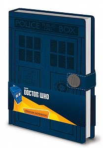 Doctor Who Premium Notebook A5 Tardis - 1
